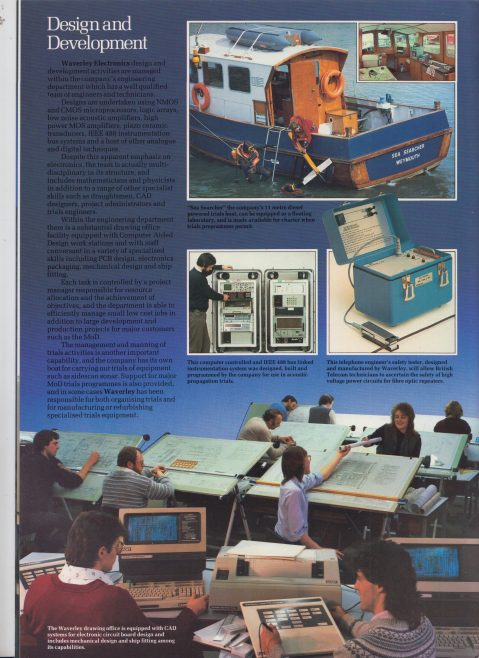 Waverley Electronics - Quality and Innovation | Original photo in the Dowty archive at the Gloucestershire Heritage Hub