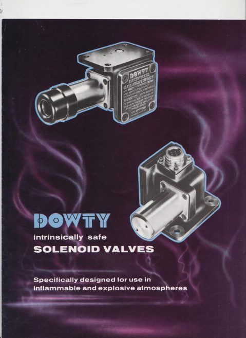 Dowty Electrics Ltd - Intrinsically Safe Solenoid Switches | Original photo in the Dowty archive at the Gloucestershire Heritage Hub