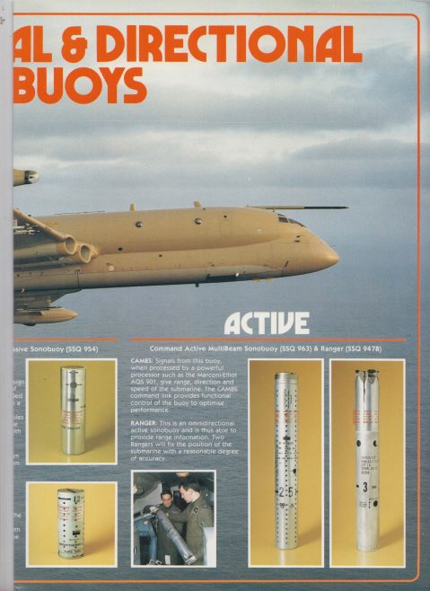 Dowty Electronics - Sonobuoys Active and Passive | Original photo in the Dowty archive at the Gloucestershire Heritage Hub