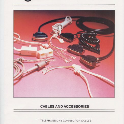 Dowty Steebek Systems - Cables and Accessories | Original photo in the Dowty archive at the Gloucestershire Heritage Hub