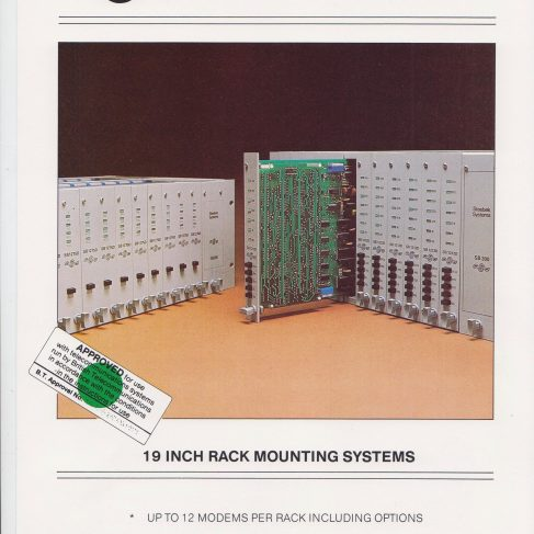 Dowty Steebek Systems - 19 Inch Rack Mounting Systems | Original photo in the Dowty archive at the Gloucestershire Heritage Hub