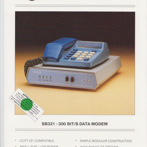 Dowty Steebek Systems - SB321 Data Modem | Original photo in the Dowty archive at the Gloucestershire Heritage Hub