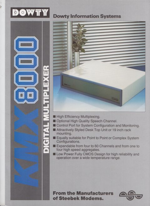 Dowty Information Systems - KNX 8000 Digital Multiplexer | Original photo in the Dowty archive at the Gloucestershire Heritage Hub