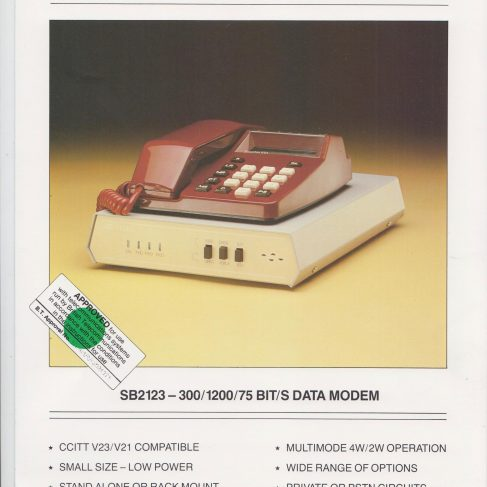 Dowty Steebek Systems - SB2123 Data Modem | Original photo in the Dowty archive at the Gloucestershire Heritage Hub