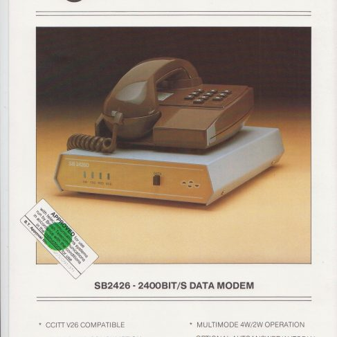 Dowty Steebek Systems - SB2426 Data Modem | Original photo in the Dowty archive at the Gloucestershire Heritage Hub