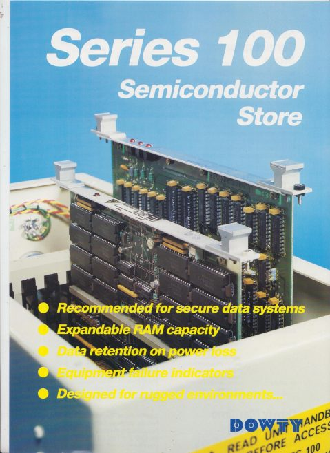 Dowty Maritime Systems - Series 100 Semiconductor Store | Original photo in the Dowty archive at the Gloucestershire Heritage Hub