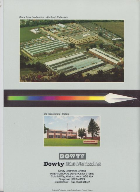 Dowty Electronics - International Defence Systems | Original photo in the Dowty archive at the Gloucestershire Heritage Hub