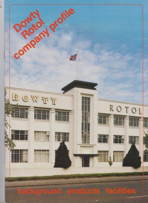 Dowty Rotol - Company Profile | Original photo in the Dowty archive at the Gloucestershire Heritage Hub