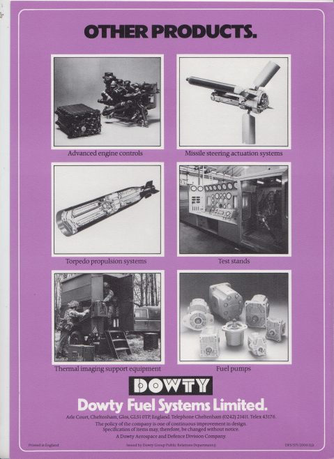 Dowty Fuel Systems - Actuators Generators & Motors | Original photo in the Dowty archive at the Gloucestershire Heritage Hub