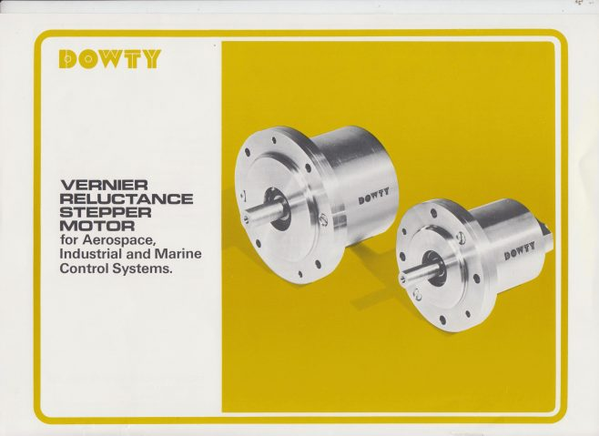 Dowty Fuel Systems - Vernier Reluctance Stepper Motor | Original photo in the Dowty archive at the Gloucestershire Heritage Hub