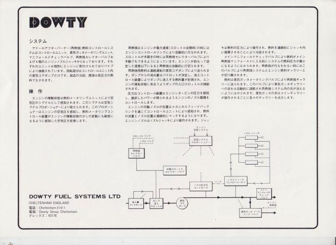 Dowty Fuel Systems - Japanese Publication | Original photo in the Dowty archive at the Gloucestershire Heritage Hub