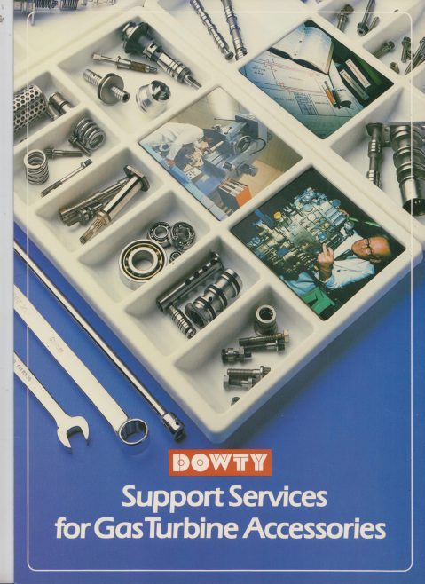 Dowty Fuel Systems - Support Services for Gas Turbine Accessories | Original photo in the Dowty archive at the Gloucestershire Heritage Hub