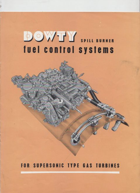 Dowty Fuel Systems - Spill Burner Fuel Control Systems | Original photo in the Dowty archive at the Gloucestershire Heritage Hub