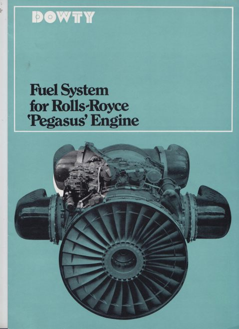Dowty Fuel Systems - Fuel System for Rolls-Royce Pegasus Engine | Original photo in the Dowty archive at the Gloucestershire Heritage Hub