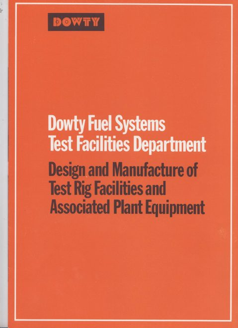 Dowty Fuel Systems - Design & Manufacture of Test Rig Facilities & Associated Plant Equipment | Original photo in the Dowty archive at the Gloucestershire Heritage Hub