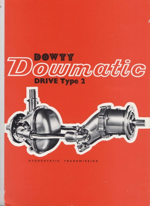 Dowty Equipment of Canada - Dowmatic Drive Type 2 Hydrostatic Transmission | Original photo in the Dowty archive at the Gloucestershire Heritage Hub