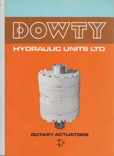Dowty Hydraulic Units - Rotary Actuators | Original photo in the Dowty archive at the Gloucestershire Heritage Hub