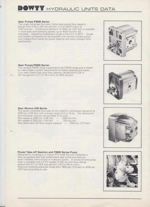 Dowty Hydraulic Units - Hydraulic Gear Pumps | Original photo in the Dowty archive at the Gloucestershire Heritage Hub