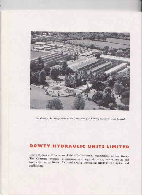 Dowty Hydraulic Units - Taurodrive Transmission Type 47 | Original photo in the Dowty archive at the Gloucestershire Heritage Hub