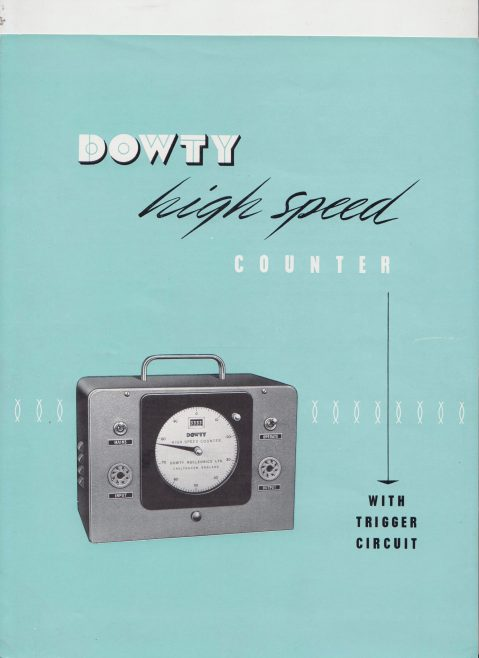Dowty Nucleonics - High Speed Counter | Original photo in the Dowty archive at the Gloucestershire Heritage Hub