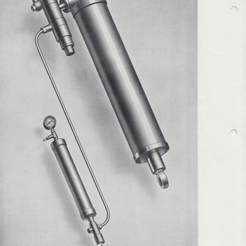 Aircraft Components - Landing Gear, Hydraulic Equipment and Aircraft Components | Original photo in the Dowty archive at the Gloucestershire Heritage Hub