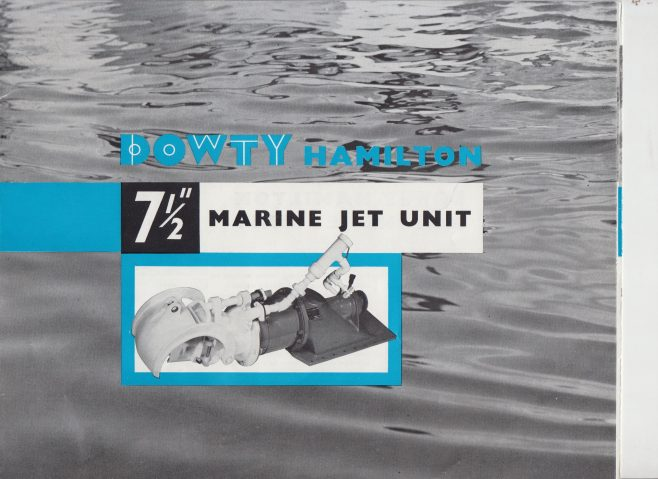 Dowty Marine - Dowty Turbocraft Mk 3 | Original photo in the Dowty archive at the Gloucestershire Heritage Hub