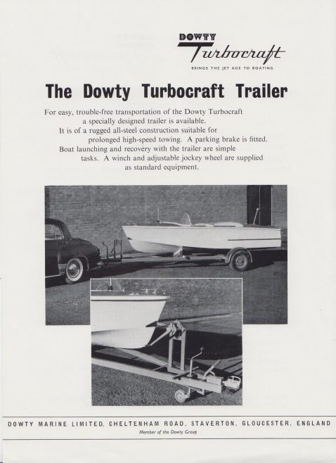 Dowty Marine - Dowty Turbocraft | Original photo in the Dowty archive at the Gloucestershire Heritage Hub