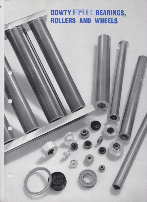 Dowty Seals - Drylon Bearings, Rollers and Wheels | Original photo in the Dowty archive at the Gloucestershire Heritage Hub