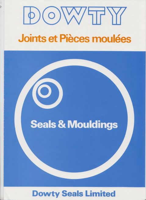 Dowty Seals - Seals and Mouldings (Anglo/French Version) | Original photo in the Dowty archive at the Gloucestershire Heritage Hub
