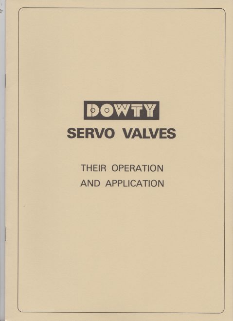 Servo Products Division - Servo Valves Their Operation & Application | Original photo in the Dowty archive at the Gloucestershire Heritage Hub