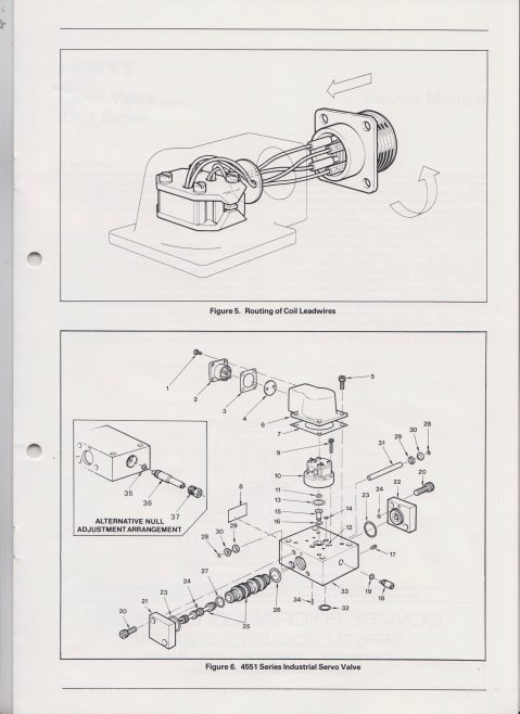 Servo Products Division - 4551 Series Servo Valve Service Manual | Original photo in the Dowty archive at the Gloucestershire Heritage Hub