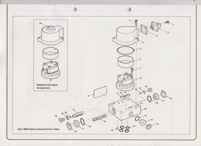 Servo Products Division - 4653 Series Servo Valve Service Manual | Original photo in the Dowty archive at the Gloucestershire Heritage Hub