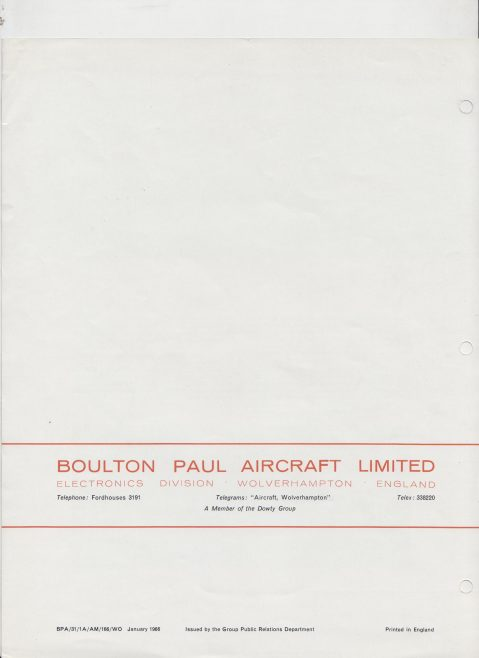 Dowty Boulton Paul - Grinding Indicator Type C101 | Original photo in the Dowty archive at the Gloucestershire Heritage Hub