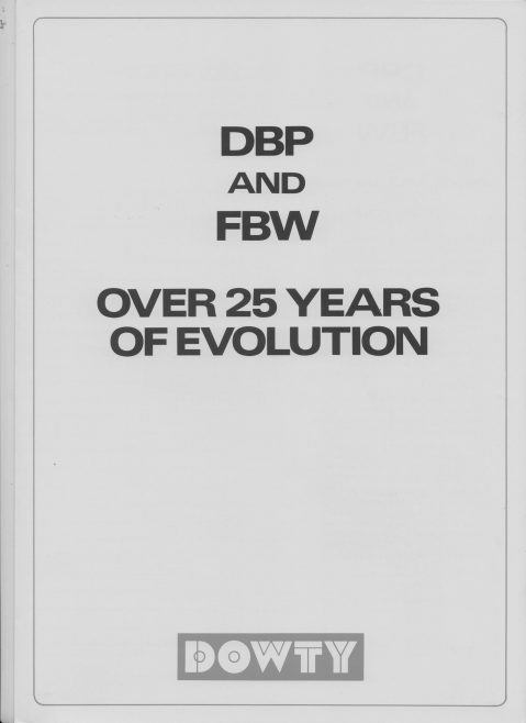 Dowty Boulton Paul - DBP and FBW Over 25 Years of Evolution | Original photo in the Dowty archive at the Gloucestershire Heritage Hub