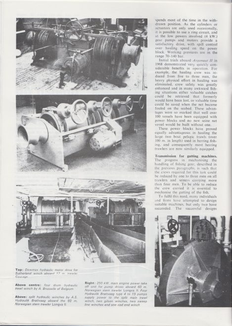Dowty Boulton Paul - Hydraulics on Fishing Vessels | Original photo in the Dowty archive at the Gloucestershire Heritage Hub