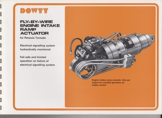 Dowty Boulton Paul - Hydraulic Power Controls | Original photo in the Dowty archive at the Gloucestershire Heritage Hub