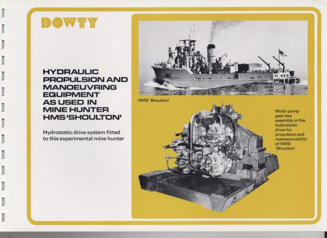 Dowty Boulton Paul - Naval & Marine Hydraulic Systems & Equipment | Original photo in the Dowty archive at the Gloucestershire Heritage Hub