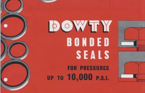 Bonded Seals for Pressures up to 10,000 P.S.I.