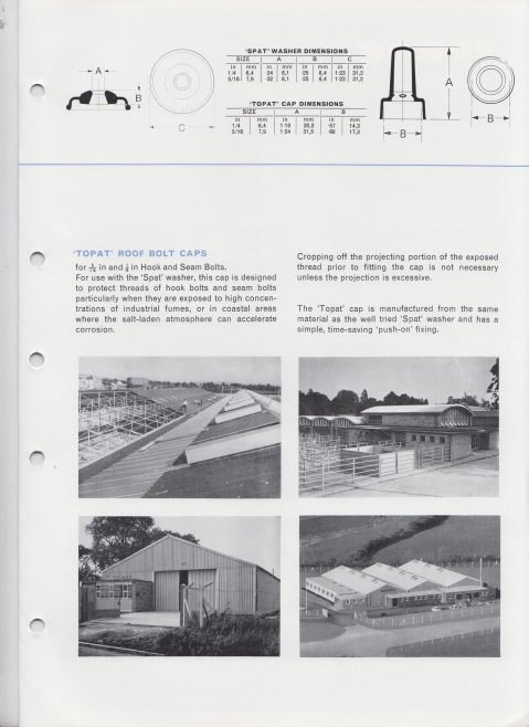 Dowty Seals - Roofing Products | Original photo in the Dowty archive at the Gloucestershire Heritage Hub