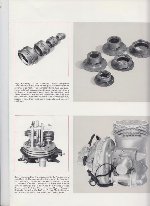 Dowty Seals - Specialists in Silicone Rubbers | Original photo in the Dowty archive at the Gloucestershire Heritage Hub