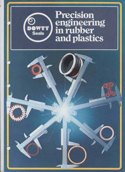 Dowty Seals - Precision Engineering in Rubber & Plastics | Original photo in the Dowty archive at the Gloucestershire Heritage Hub