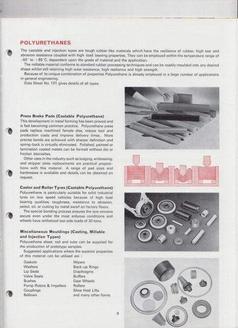 Dowty Seals - Product Catalogue | Original photo in the Dowty archive at the Gloucestershire Heritage Hub