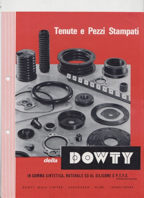 Dowty Seals - Product Catalogue (Italian Version) | Original photo in the Dowty archive at the Gloucestershire Heritage Hub