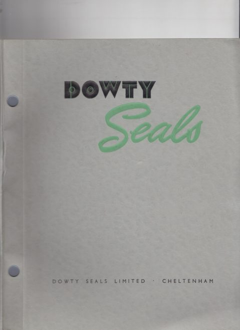Dowty Seals - Early Product Catalogue | Original photo in the Dowty archive at the Gloucestershire Heritage Hub