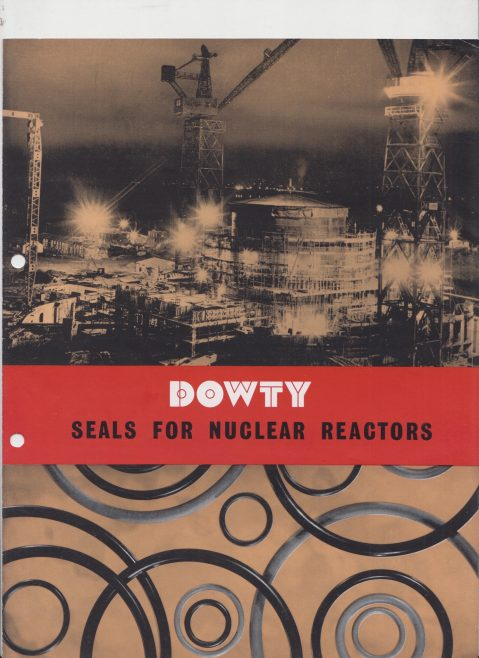 Dowty Seals - Seals for Nuclear Reactors | Original photo in the Dowty archive at the Gloucestershire Heritage Hub