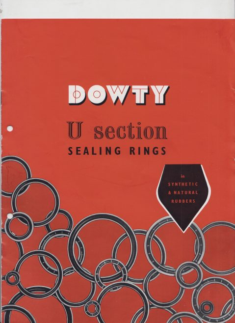 Dowty Seals - U Section Sealing Rings | Original photo in the Dowty archive at the Gloucestershire Heritage Hub