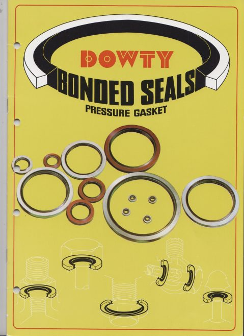 Dowty Seals - Bonded Seals Pressure Gasket | Original photo in the Dowty archive at the Gloucestershire Heritage Hub