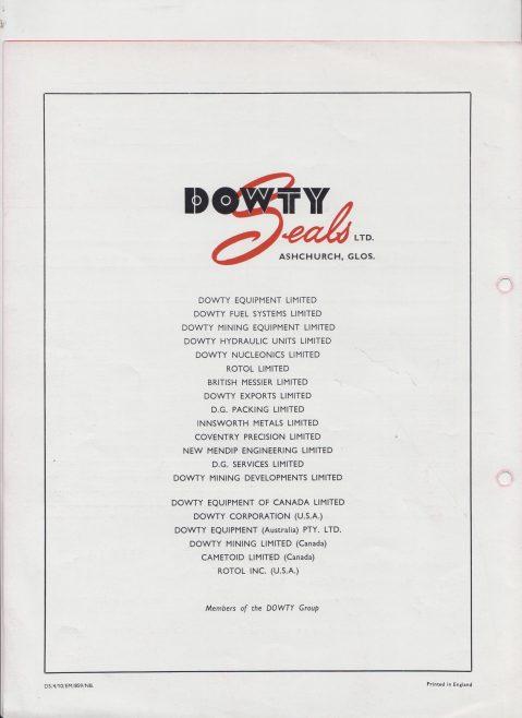 Dowty Seals - Seloc