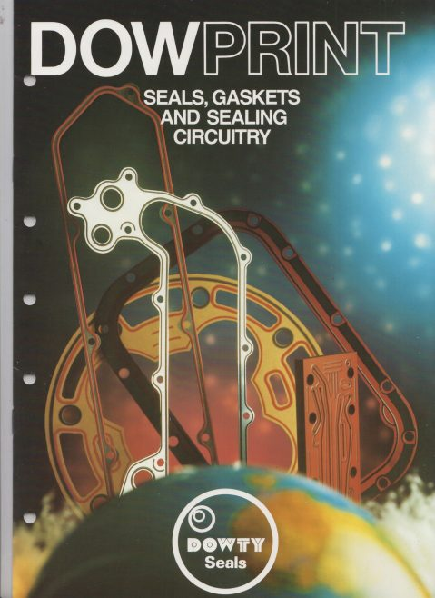 Dowty Seals - Dowprint Seals, Gaskets and Sealing Circuitry | Original photo in the Dowty archive at the Gloucestershire Heritage Hub