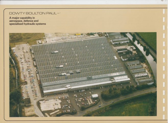 Dowty Boulton Paul - Company Profile | Original photo in the Dowty archive at the Gloucestershire Heritage Hub